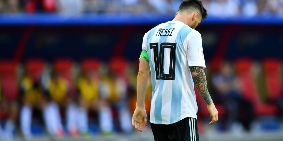 Messi tchau tchau tchau: essa deve ter sido a última Copa do Mundo do craque argentino