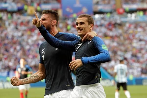 Video del gol de Antoine Griezmann con Francia VS Argentina