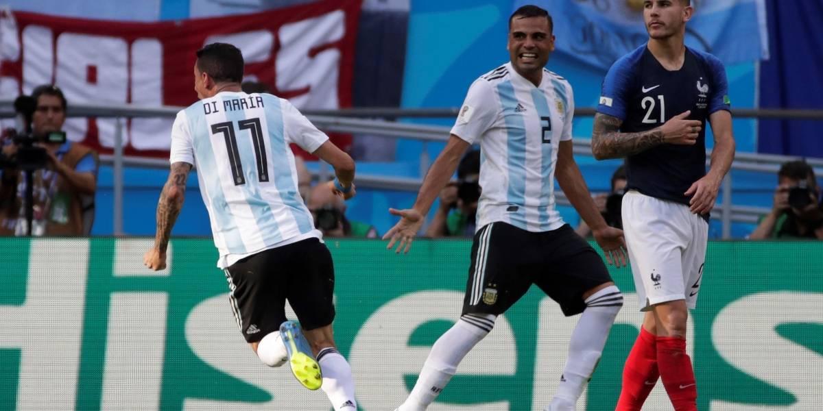 ¡El mejor gol del Mundial! Di María marcó una pintura en el Kazán Arena