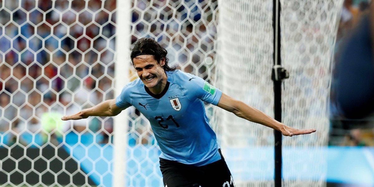¡Con Cavani, Uruguay vuela! El Matador hizo otro golazo