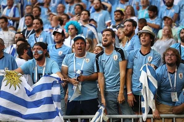 Getty hinchada uruguaya