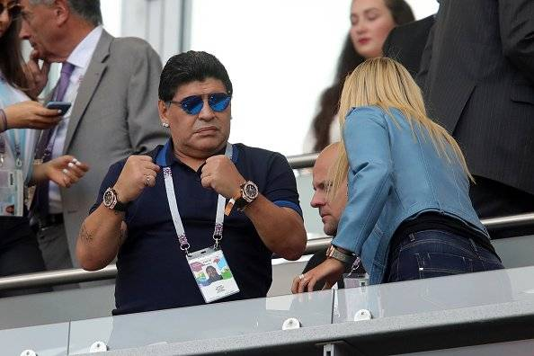 Getty Diego Armando Maradona