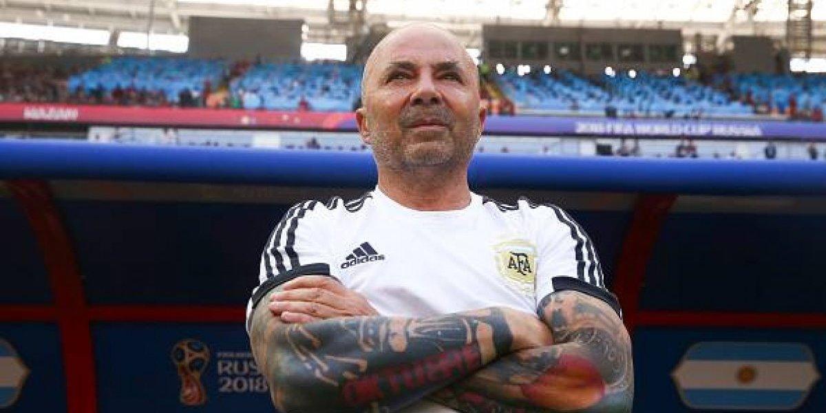 Jorge Sampaoli mencionó que no se quiere ir de la selección