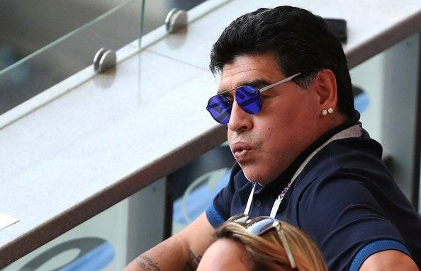 Getty Diego Armando Maradona