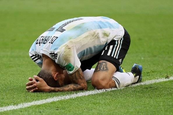 Getty Argentina eliminada de Rusia 2018