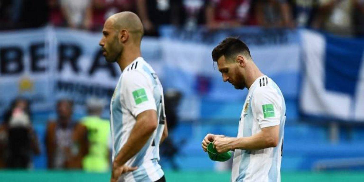 """Francia acabó con la """"generación dorada"""" de Argentina, Mascherano renuncia"""