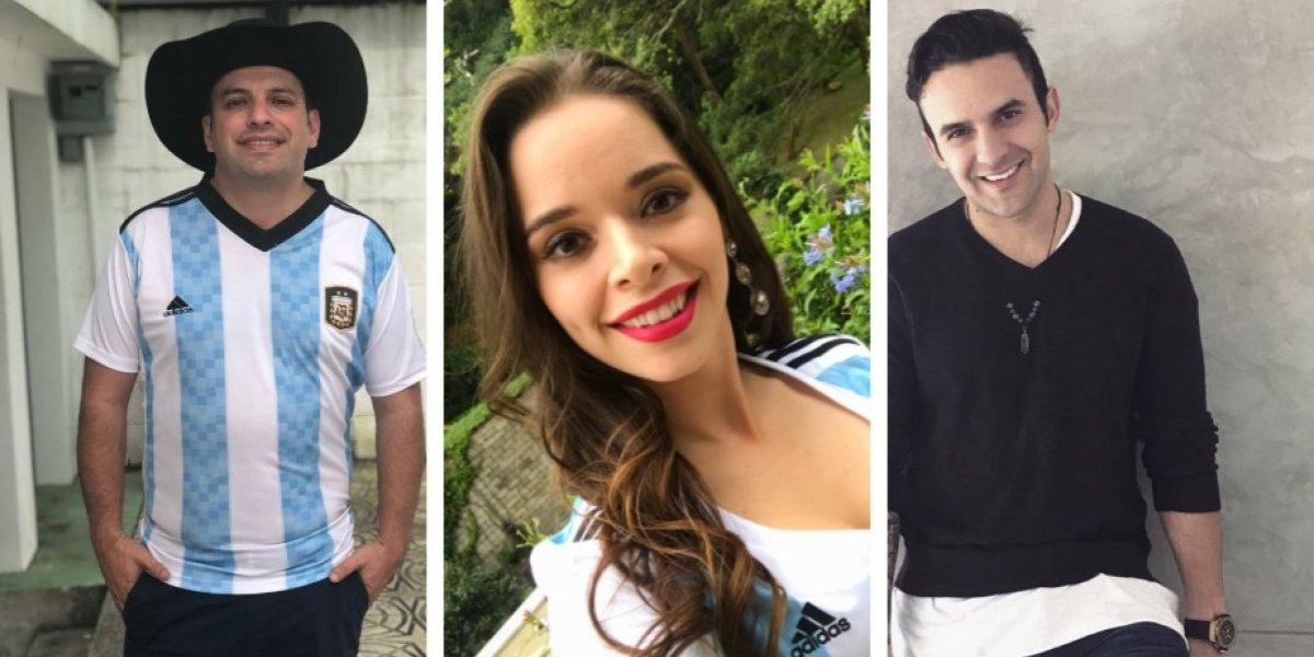 Argentina es eliminada del Mundial y así lo sufren los famosos en Guatemala