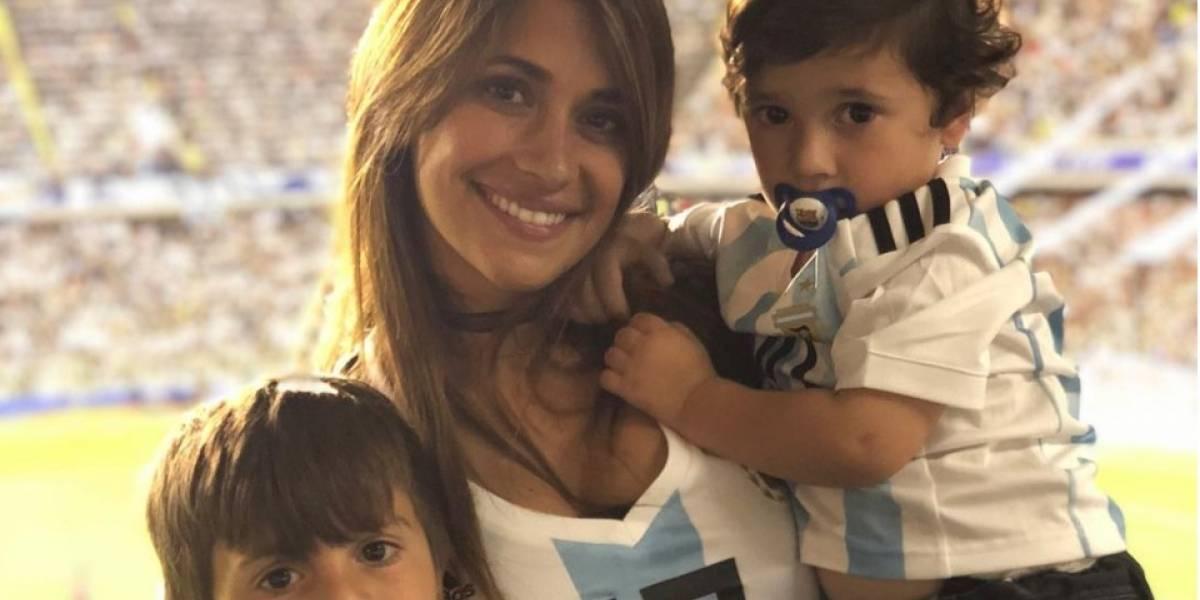 Captan la reacción de Antonela Roccuzzo tras la eliminación de la selección de Argentina