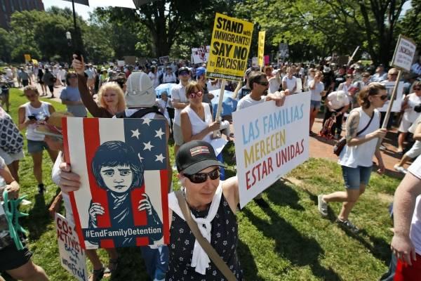 Marcha inmigración