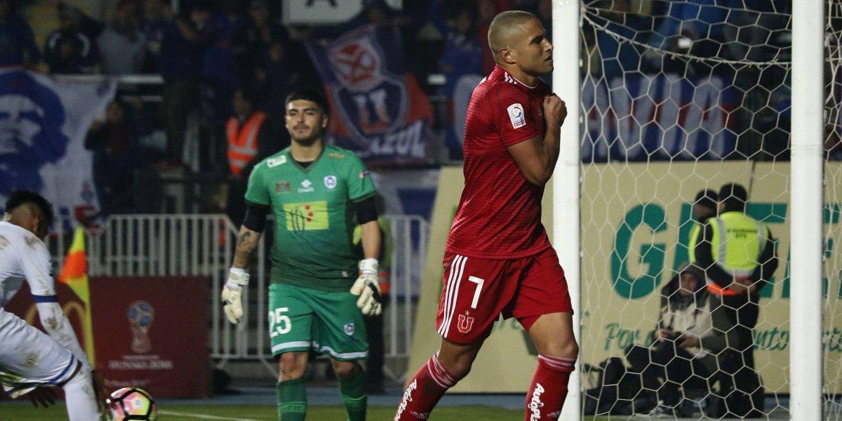 """Leandro Benegas vuelve al gol en la U después de casi un año: """"Pasé muchas cosas difíciles"""""""