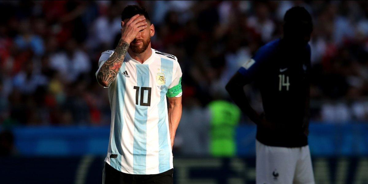 ¡Tarde oscura! Messi no apareció y Argentina se despidió del Mundial