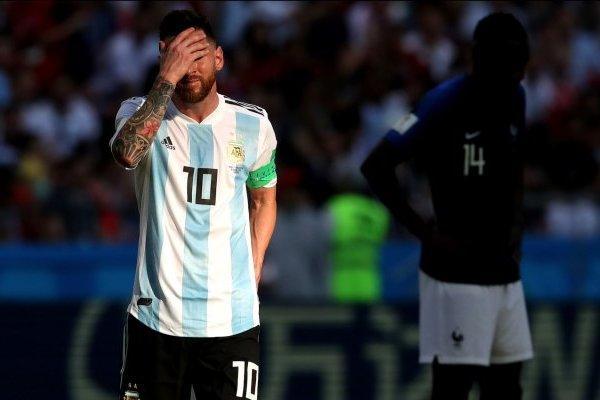 Video de los goles de Argentina VS Francia