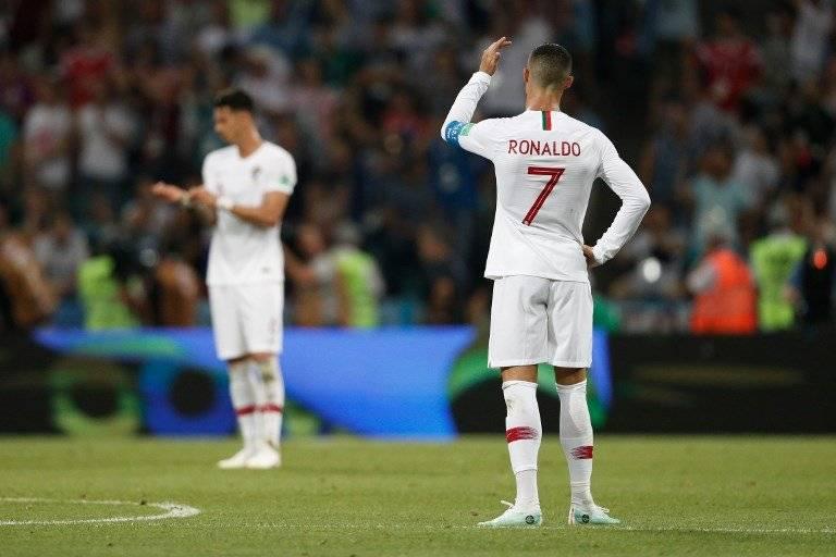 Cristiano se lamentó tras la eliminación de Portugal