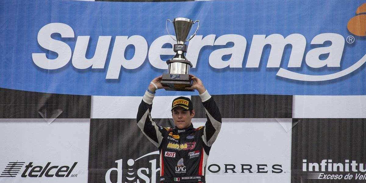 Moisés De la Vara se corona en la Formula 4 NACAM