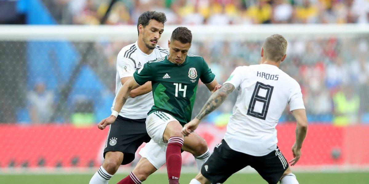 Alemania vs México, el partido más visto en Rusia 2018