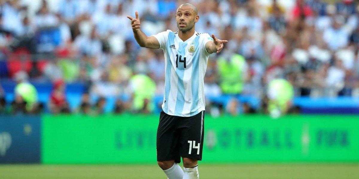 Mascherano confirma retiro de la Selección argentina