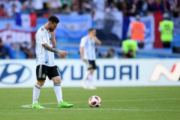 Argentina no va más / imagen: Getty Images