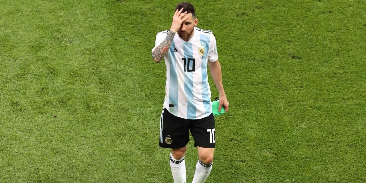 Los terribles números de Lionel Messi en Mundiales