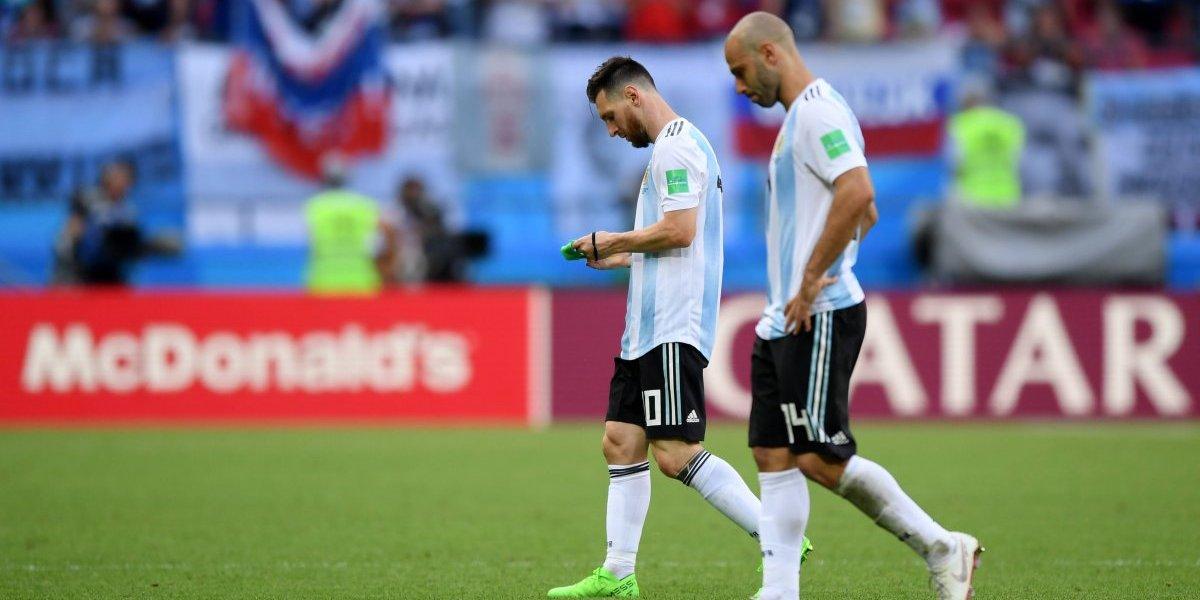 El ciclo no da para más: Javier Mascherano se retiró de la selección de Argentina