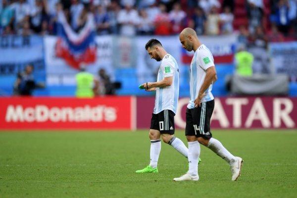 Mascherano no aguantó otro fracaso / imagen: Getty Images