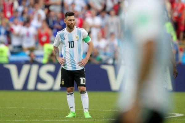 Argentina no va más en Rusia 2018 / imagen: Getty Images