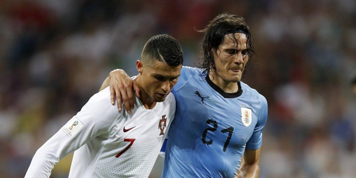 VIDEO: Increíble gesto de Cristiano Ronaldo tras lesión de Cavani