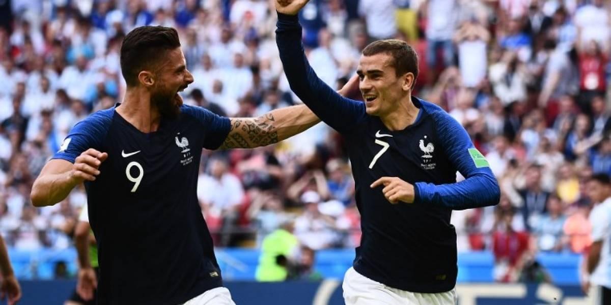 El gol de Griezmann que reduce las posibilidades de Argentina