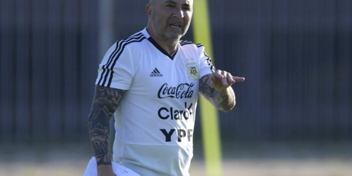 ¡Oficial! Jorge Sampaoli deja de ser el técnico de Argentina