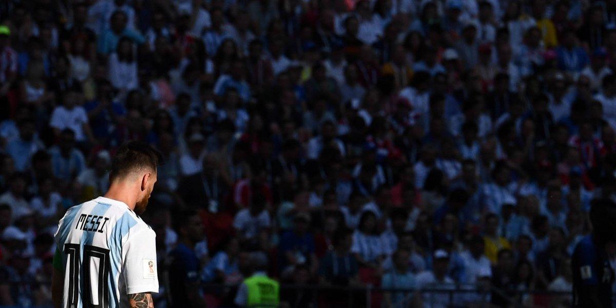 Las imágenes más dolorosas de la eliminación de Argentina