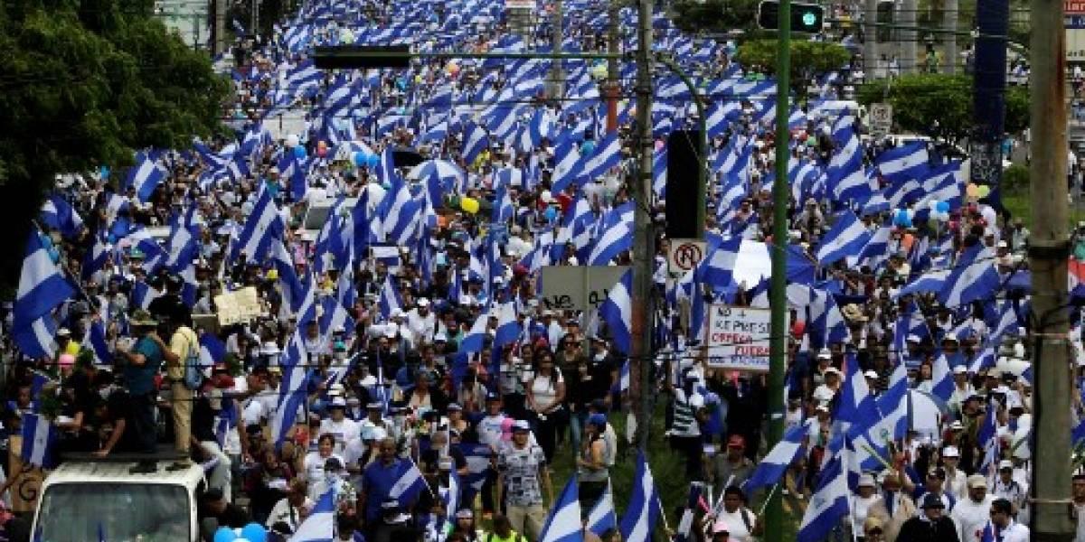 Tiroteo contra manifestantes protestaban contra Ortega en Managua
