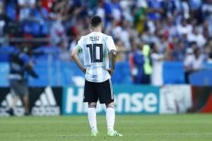 La tristeza de Lionel Messi