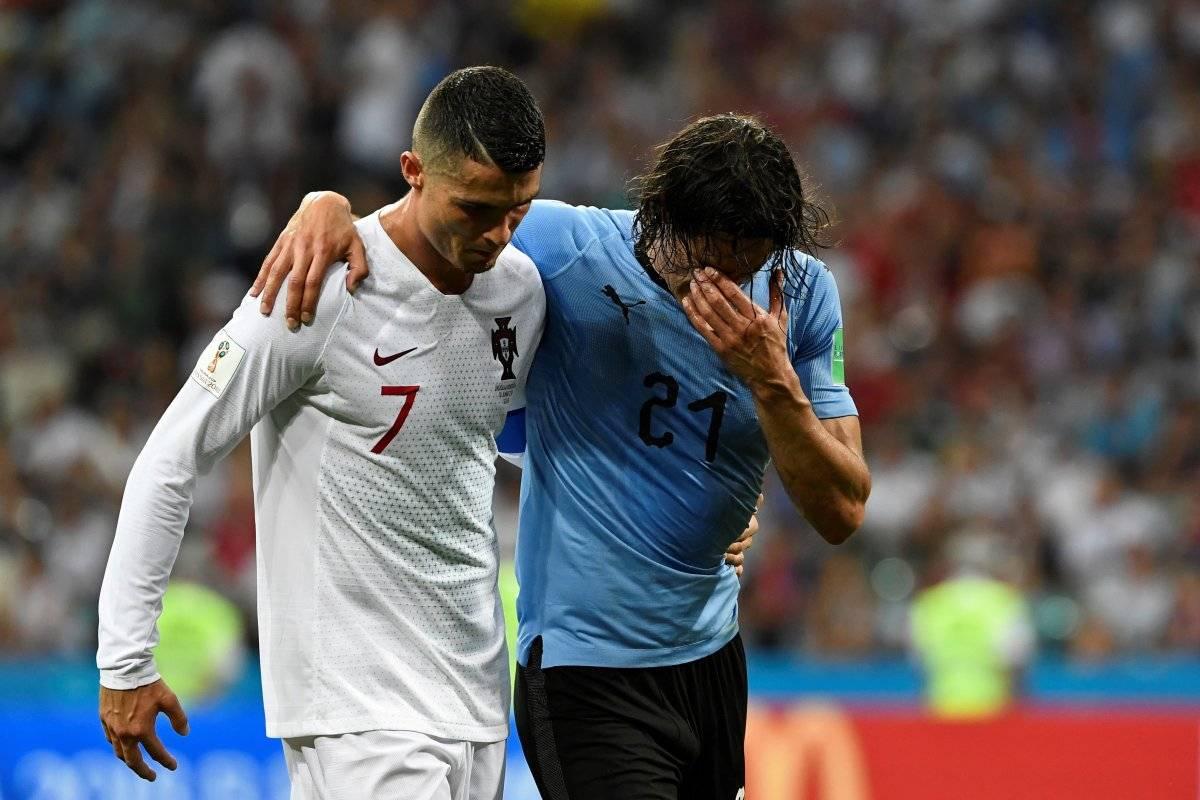 Ronaldo ayudó al goleador a salir cuando se lesionó