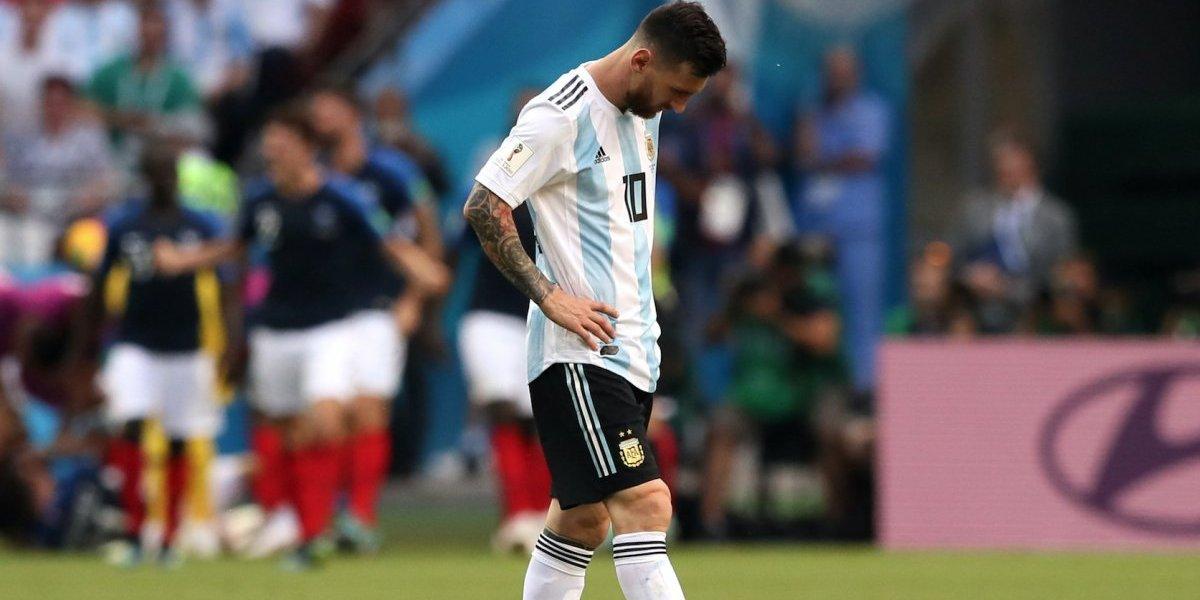 Francia elimina a Argentina con doblete de Mbappé