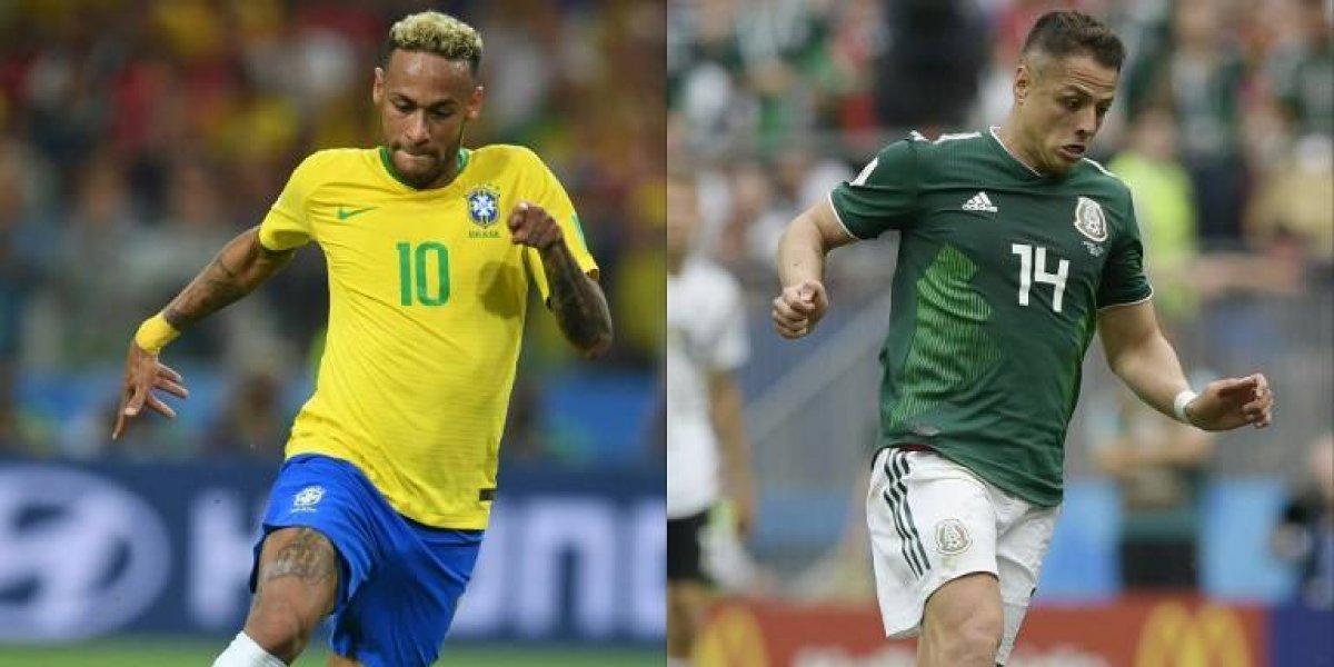 El Tri quiere romper la maldición en un partido donde Neymar está obligado a brillar