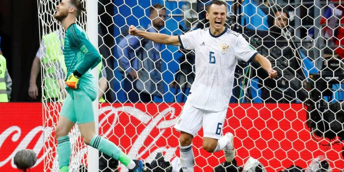 Nos pênaltis, Rússia ganha da Espanha e segue para as quartas