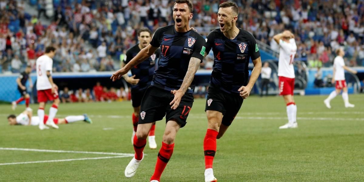 Em mais uma disputa nos pênaltis, Croácia vence a Dinamarca e vai pegar a Rússia