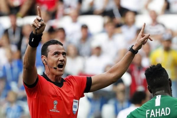 Wilmar Roldán no pitará más partidos en el Mundial