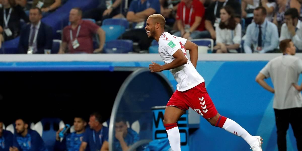 ¡Sorpresa! Jørgensen, ante Croacia, fue el autor del gol más rápido del Mundial
