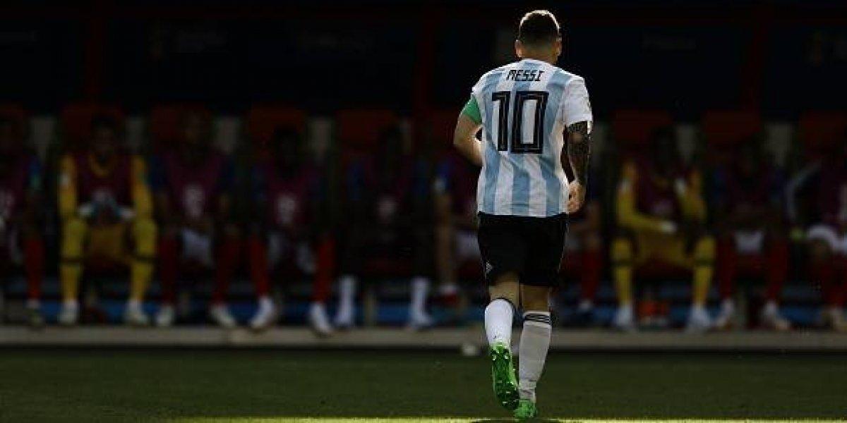 Lionel Messi abandonó Rusia en silencio