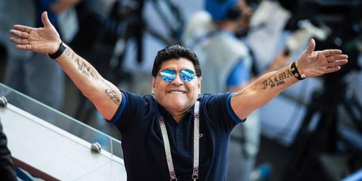 Maradona expresa apoyo a Madura tras presunto atentado