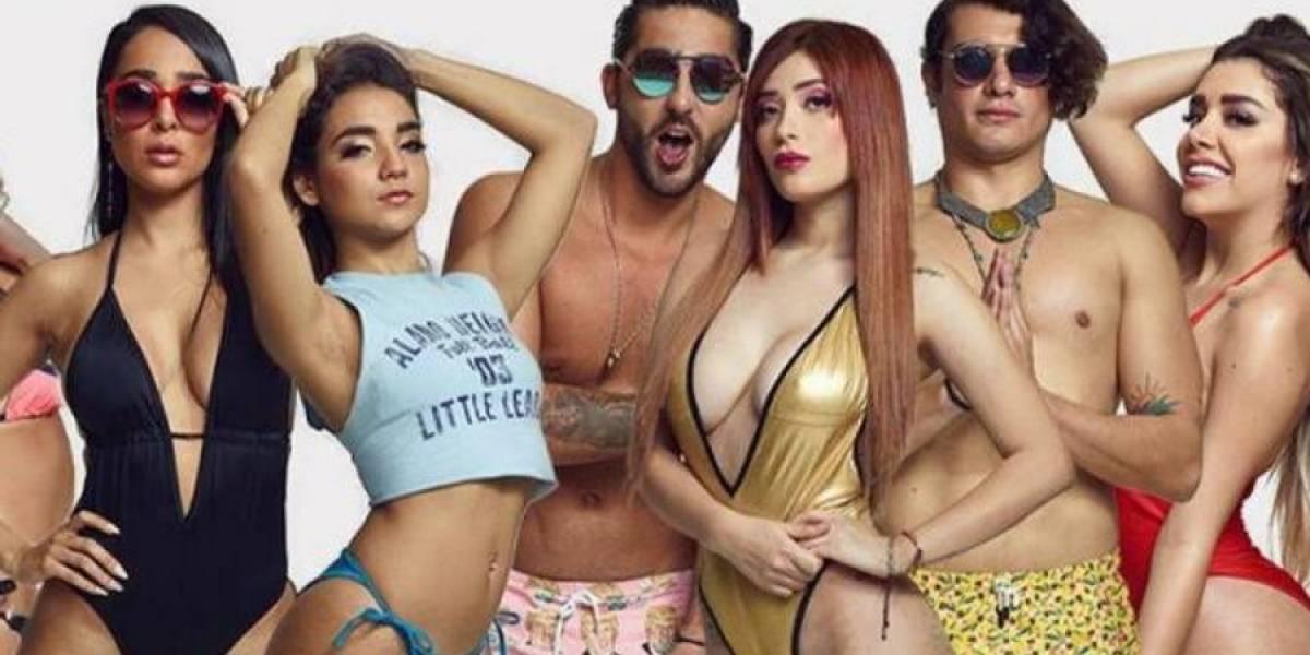 VIDEO. Integrante de Acapulco Shore salta del bungee ¡en topless!