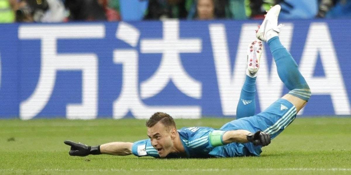 Rusia derrota a España y avanza a los cuartos de final del Mundial