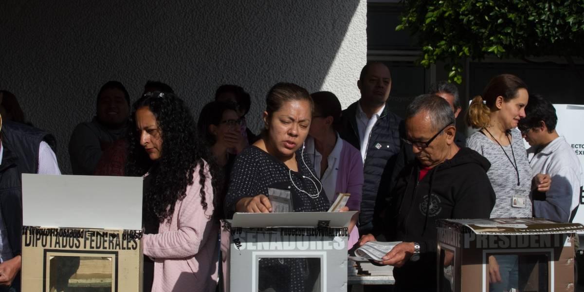 Muere una persona en casilla de la Ciudad de México