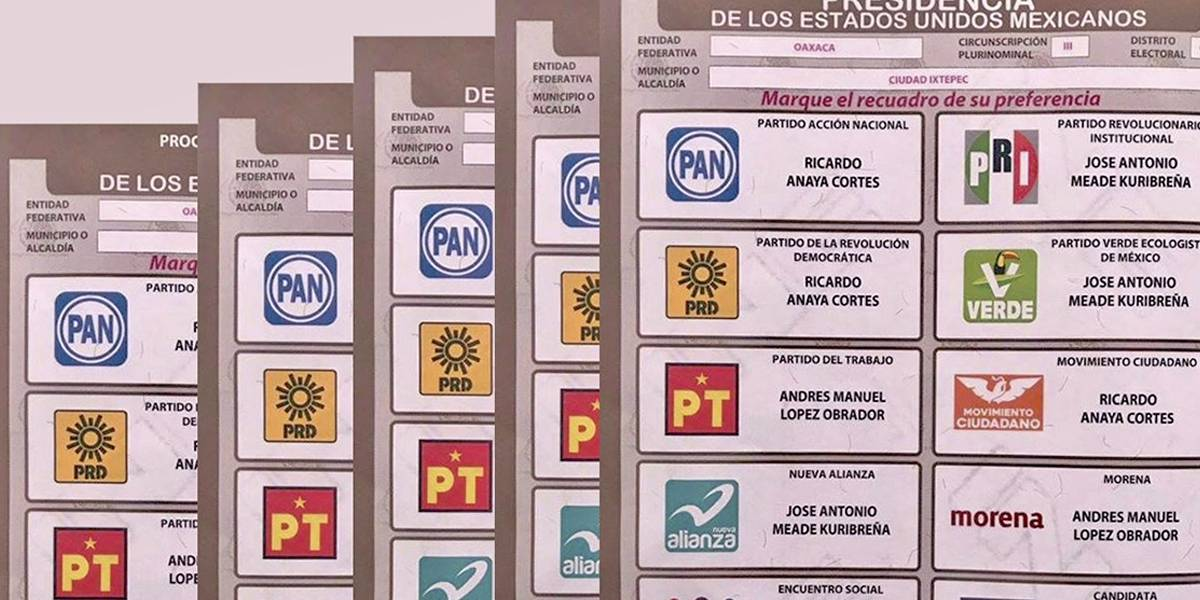 México: INE confirma que no es delito fotografiar el voto marcado en boletas