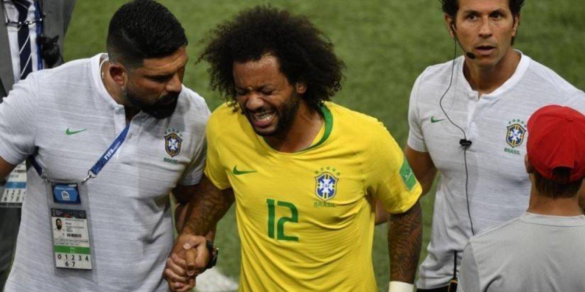 Brasil enfrenta a México a las 10am. Marcelo quedó descartado en el Scratch