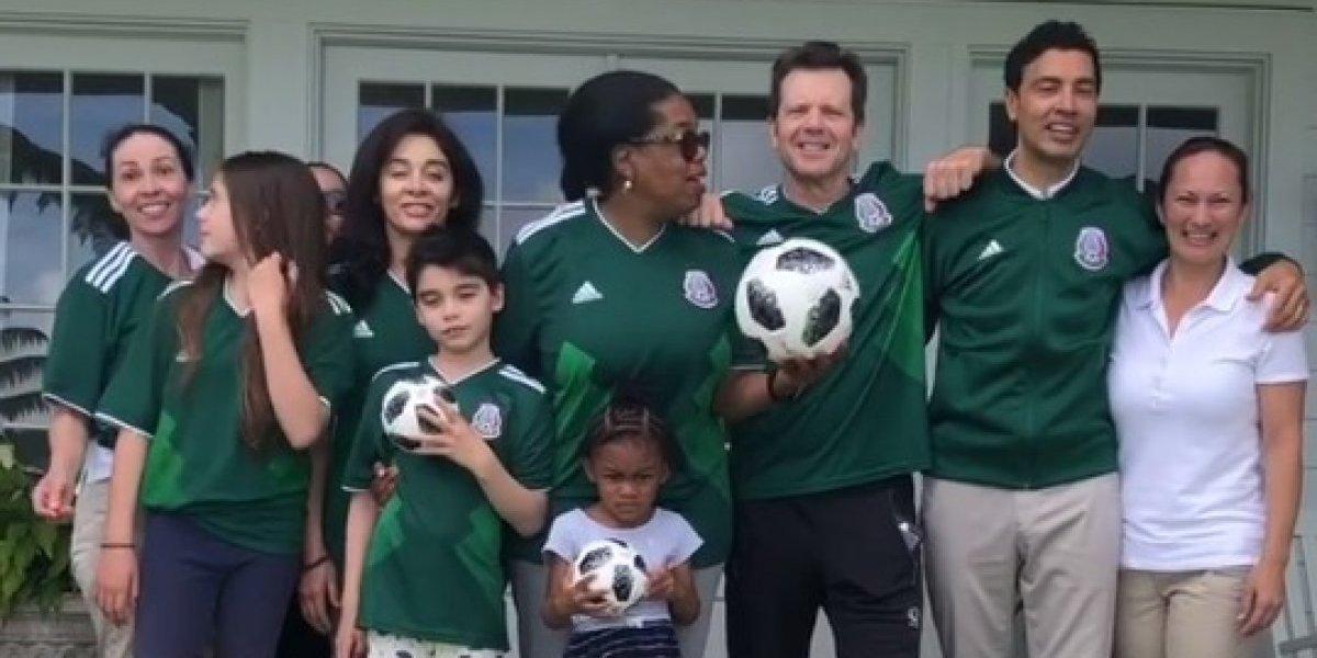 Oprah Winfrey apoya a la Selección Mexicana