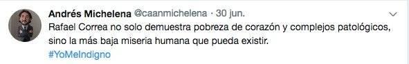 Andrés Michelena Twitter