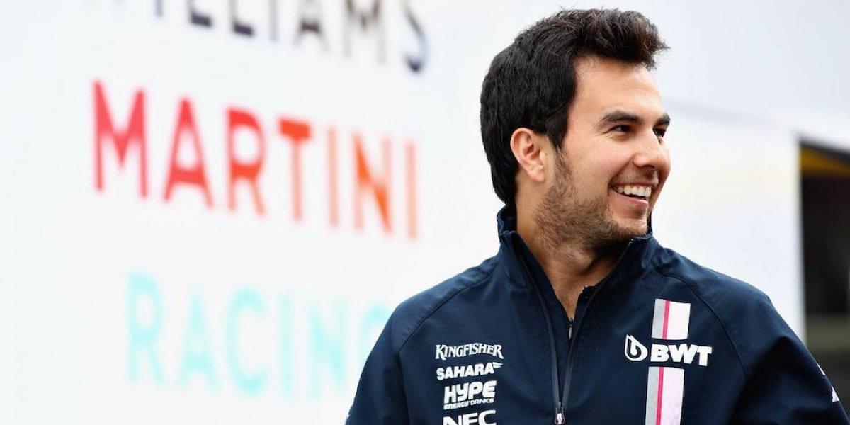Sergio Pérez se dijo conforme con su papel en Austria