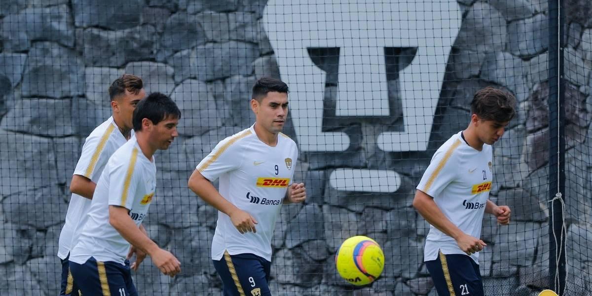 Mora debutó en Pumas con un golazo de chilena y comienza bien la misión de dejar en el olvido a Castillo