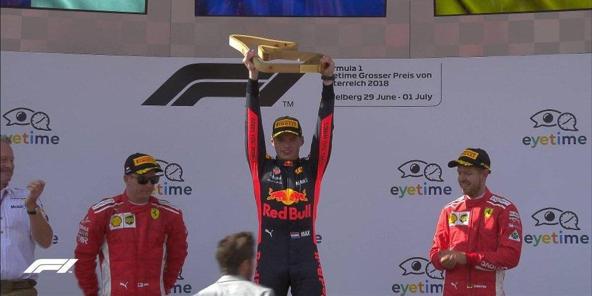 Max Verstappen se corona en el GP de Austria; 'Checo' Pérez séptimo